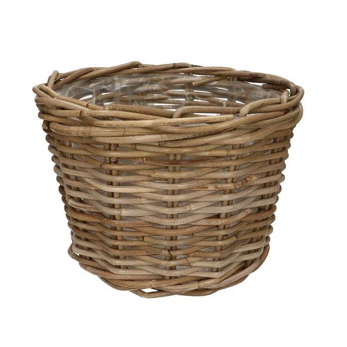 <h4>Baskets Rattan pot d31*23cm</h4>