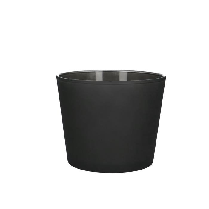 <h4>Glas kleur Pot Nashville mat d12*10cm</h4>