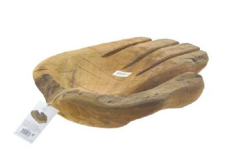 <h4>DF883822000 - Bowl teak wood hand 40cm</h4>