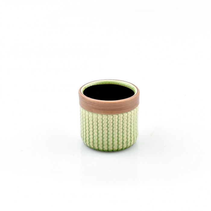 <h4>Keramiek Knitted pot d07*07cm</h4>