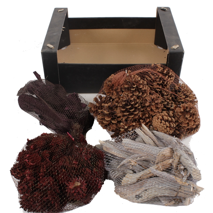 <h4>Mix box net products autumn in black box</h4>