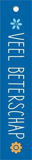 <h4>FLORAL CARD DUTCH VEEL BETERSCHAP 25PCS FCC-7812</h4>