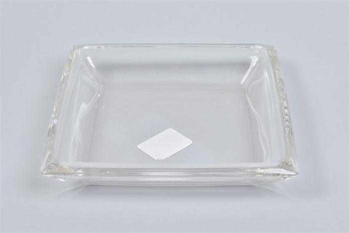 <h4>Glas Schaal Vierkant 20x20x4cm</h4>