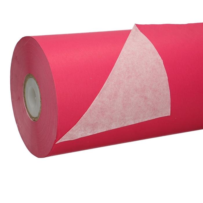 <h4>Papier Rol 50cm 40g 7.5kg Wit/Fuchsia</h4>