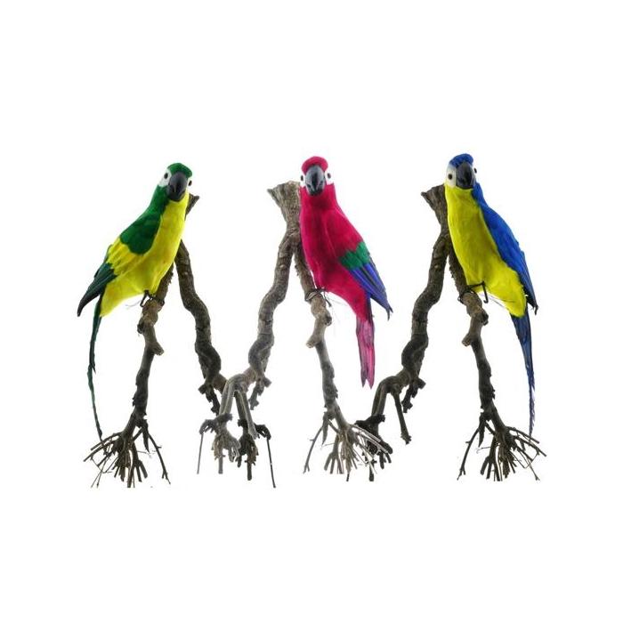 <h4>Fig. Feather Parrot 60cm Mix/3</h4>