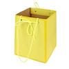 Bag Easy carton 12/12x15/15xH18cm yellow
