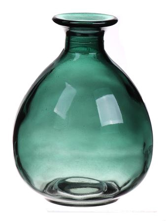 <h4>Bottle Caro1 d9.2xh12 green</h4>