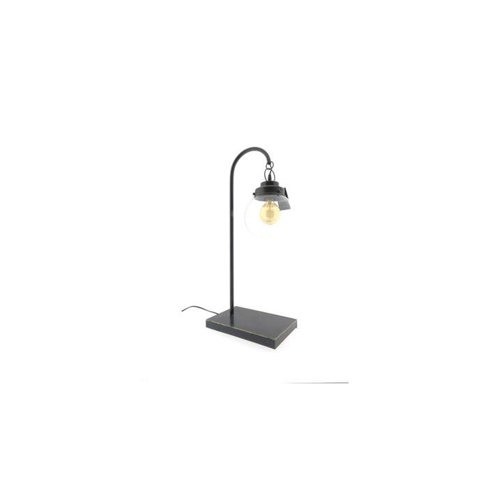 <h4>Lamp Table Mtl H:70 Ant. Black</h4>
