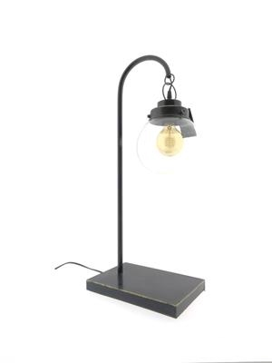 Lamp Table Mtl H:70 Ant. Black