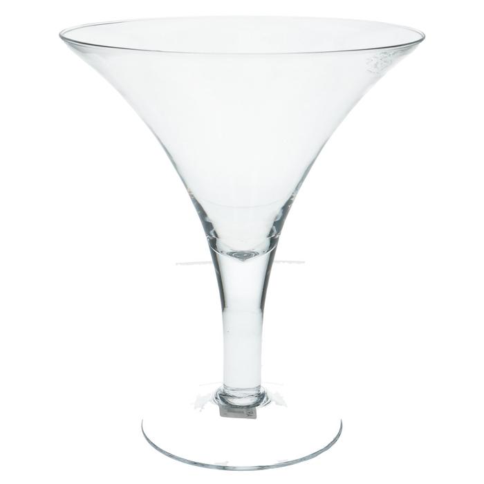 <h4>Glas Bokaal Konisch d24.5*29.5cm</h4>