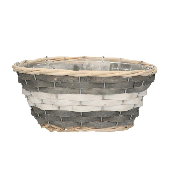 <h4>Baskets Fleur tray ov.d24/17*11cm</h4>