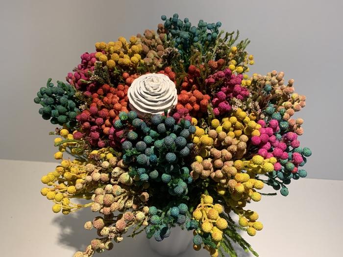 <h4>Bqt - Mandarin Berzelia tint  bouquet</h4>