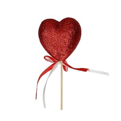 <h4>Valentijn 50cm Hart glitter 7cm</h4>
