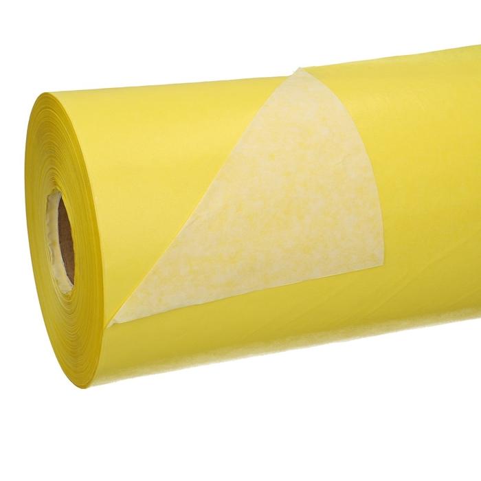 <h4>Papier Rol 50cm 40g 7.5kg Wit/Geel</h4>