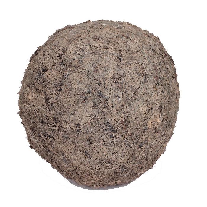 <h4>Grey mos ball 50cm natural</h4>