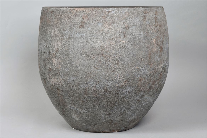 <h4>Bali Indonesian Grey Pot 40x36cm</h4>