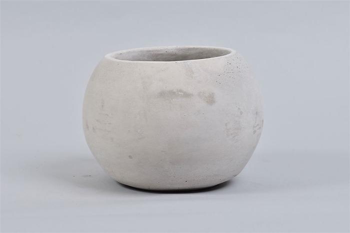 <h4>Beton Pot Bol 18x14cm</h4>