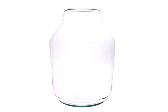 <h4>DF883528700 - Vase Haili d12xh33 clear</h4>