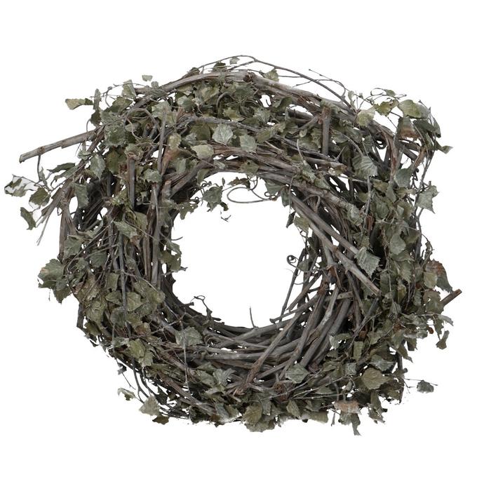 <h4>Wreath d40cm Birch leaves</h4>