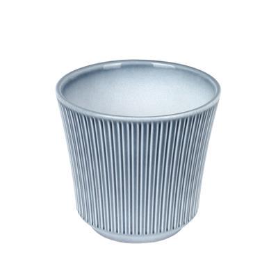 <h4>Pot en céramique Delphi Ø14xH13cm bleu / gris</h4>