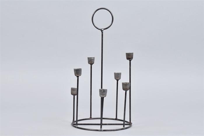 <h4>Kaarshouder Steel 18x35cm 7 Cups</h4>