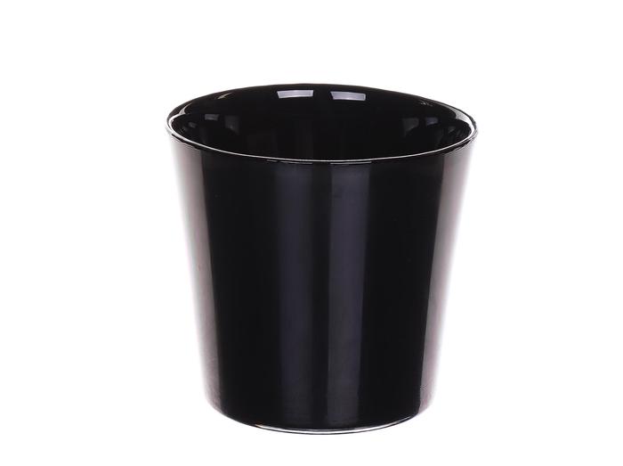 <h4>DF882891400 - Pot Nashville d13.3xh12.5 black</h4>