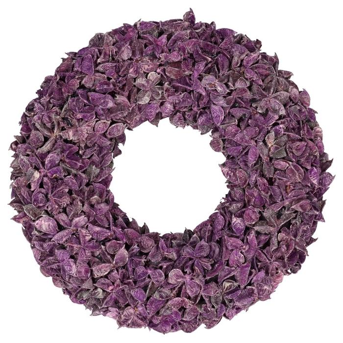 <h4>Wreath d40cm Cotton pod</h4>