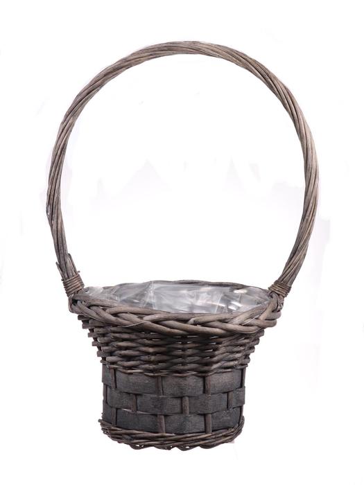 <h4>DF655552800 - H.basket Patrick1 d25xh48 grey</h4>