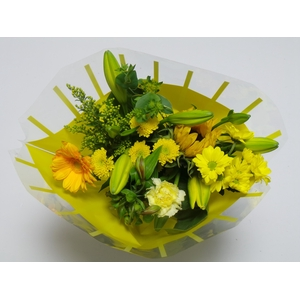 Bouquet 10 stems Yellow