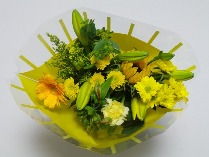 <h4>Bouquet 10 stems Yellow</h4>