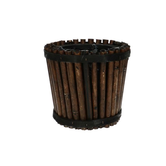 <h4>Manden Bamboe pot d15*14cm</h4>