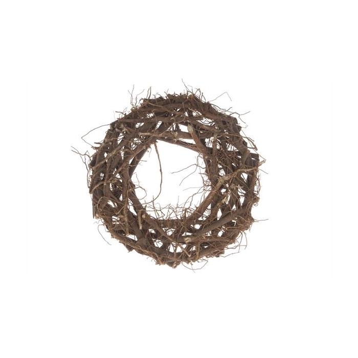<h4>Cotton root wreath 40cm</h4>