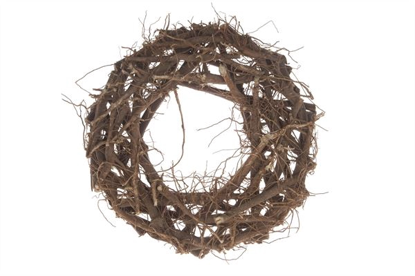 <h4>Cotton root wreath 40cm</h4>