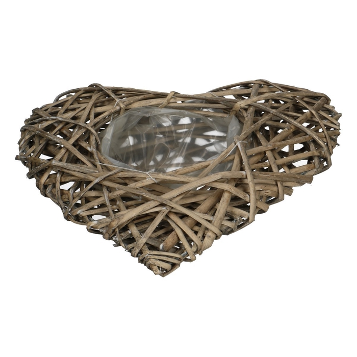 <h4>Baskets Heart willow d34/12*10cm</h4>