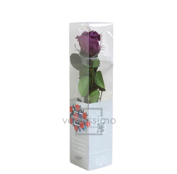 <h4>Roos op steel mini 27,5cm Lilac</h4>