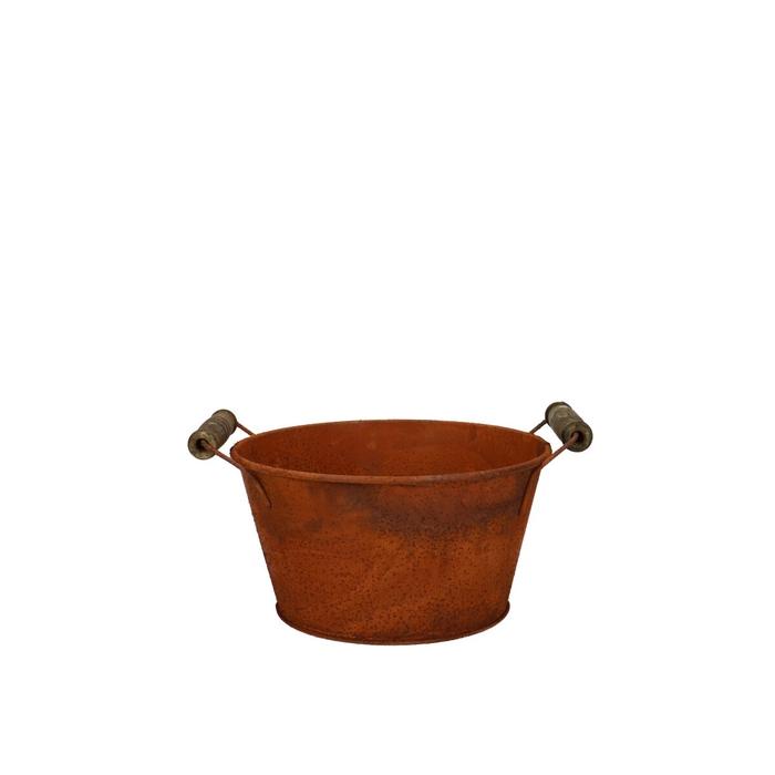 <h4>Zinc Rust tray d15*8cm</h4>