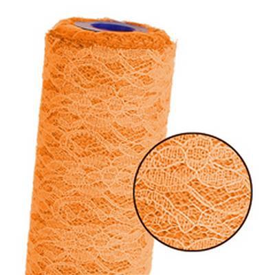 <h4>Rôle de lace mesh 60cmx25m orange</h4>