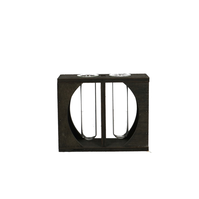 <h4>Glas Tray 2buis d14/6*11.5cm</h4>