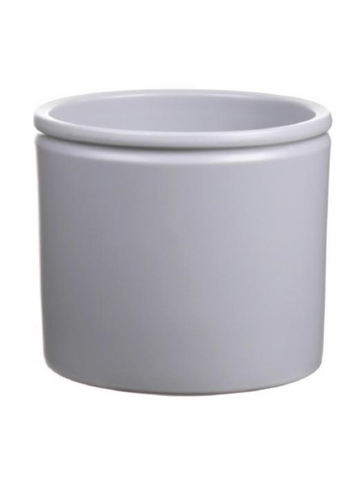 <h4>DF885094247 - Pot Lucca d14xh12.5 light grey matt</h4>