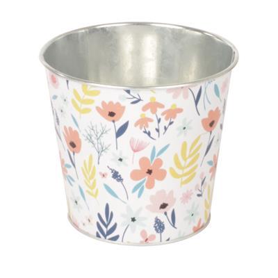 <h4>Pot Spring zinc D13,3xH12,3cm ES12</h4>