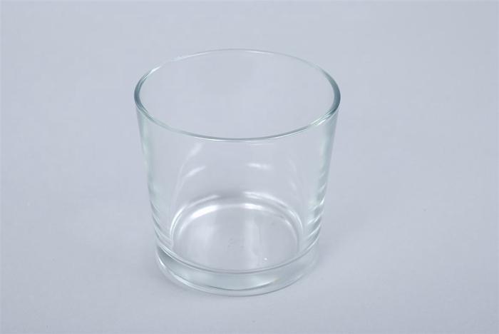 <h4>Glas Pot Konisch 12x11cm</h4>
