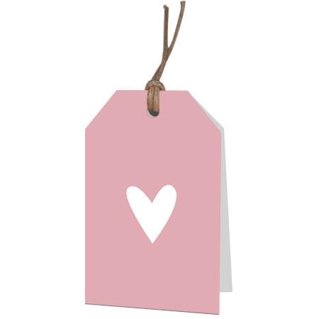 <h4>Liefde Displ.Card F Coeur 5*8cm x12</h4>