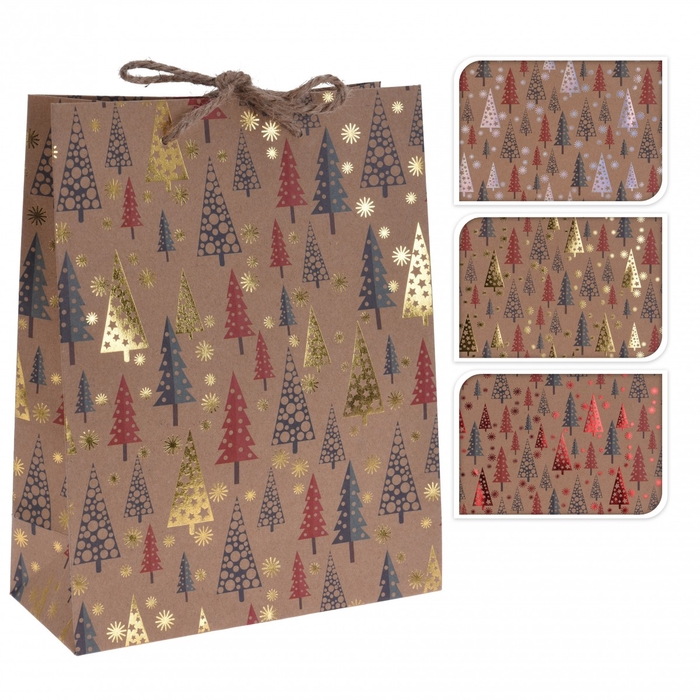 <h4>Christmas Bag deco d18/8.5*23cm ass</h4>