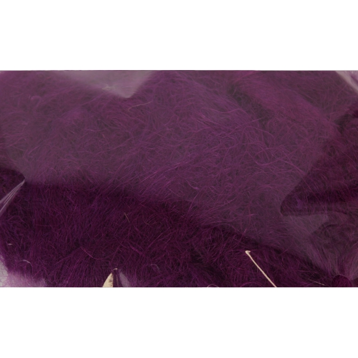 <h4>Fuzzy fibre 100 gram in poly lilac</h4>