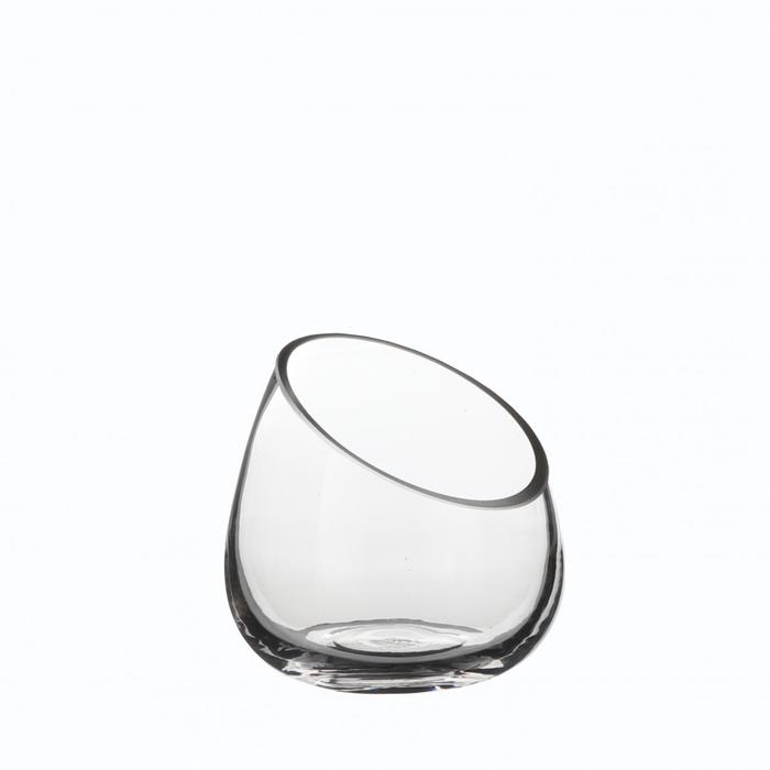 <h4>Glas Pot diagonaal d12.5*12.5cm</h4>