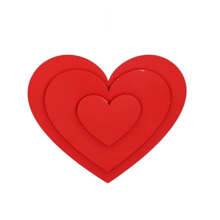 <h4>Liefde Hanger hart foam 30cm</h4>
