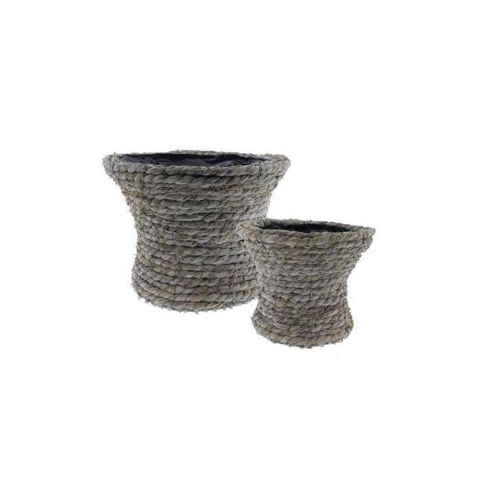 <h4>Basket Rope S/2 Ø35x22cm</h4>
