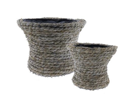 <h4>Basket Rope S/2 Ø35x25cm</h4>