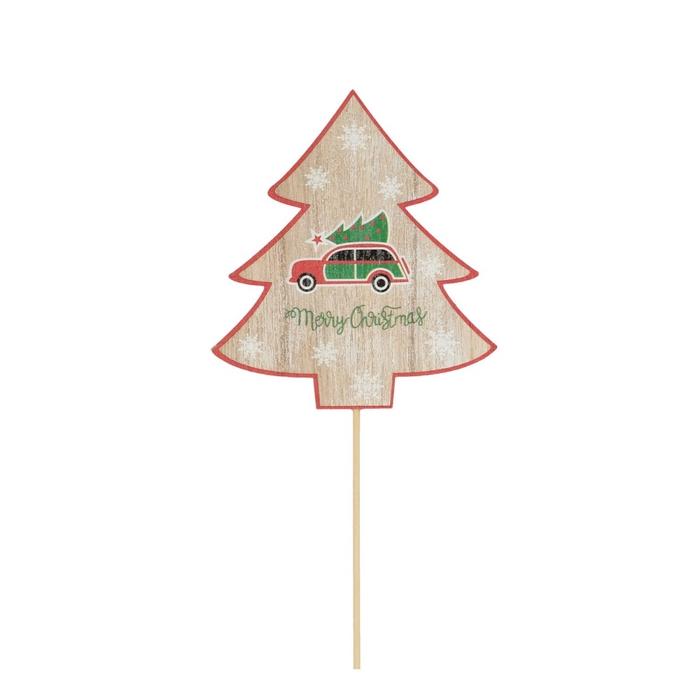 <h4>Christmas sticks 50cm Car+tree 10cm</h4>