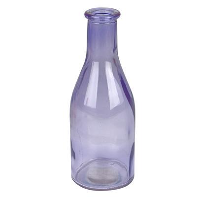 <h4>Vase Moroni verre D6,5xH18cm violet transparent</h4>